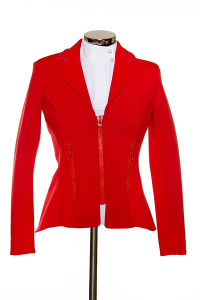 Zip Jacket Red