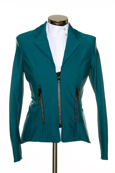 Zip Jacket Petrol Green