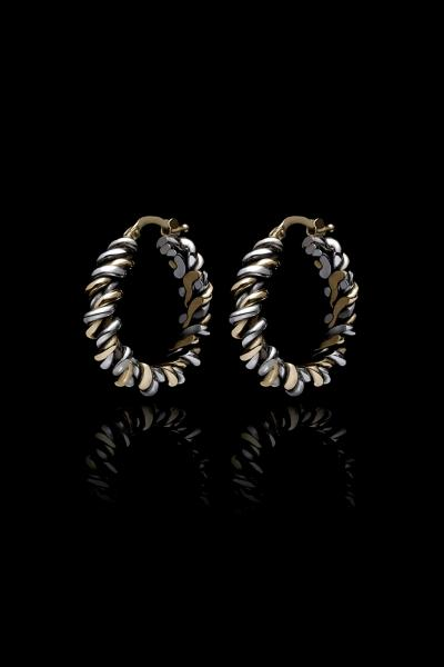 Fine Torcetto Earrings