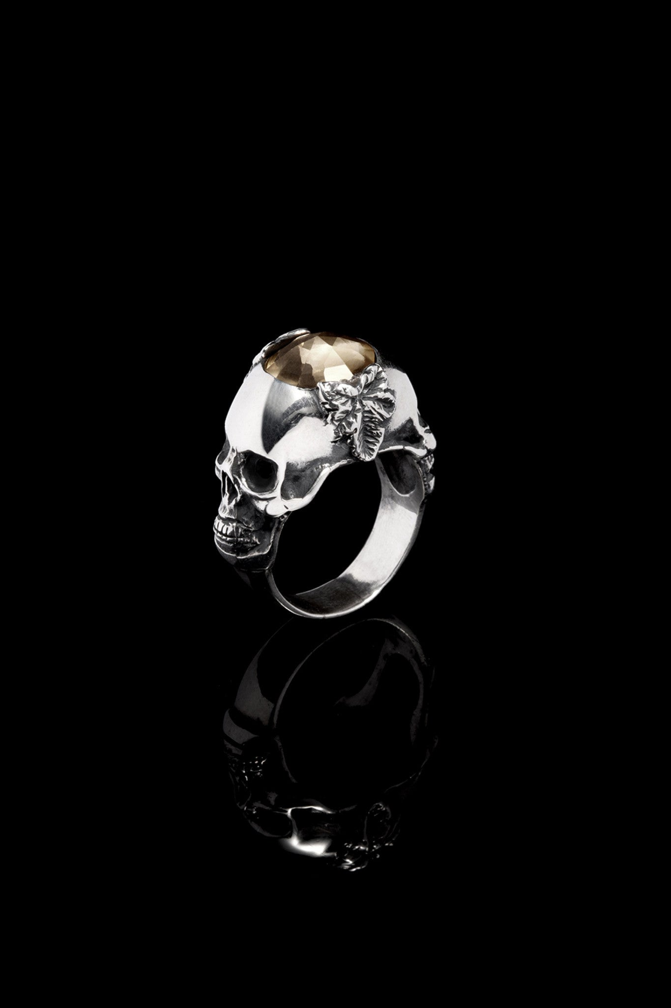 Ugo Cacciatori, Silver, Jewelry, Sterling Silver, Ring, Smoky Quartz, Smoky Quartz and Black Diamonds, Smoky Quartz and Brown Diamonds, Smoky Quartz and Emeralds, Smoky Quartz and Rubies, Smoky Quartz and Sapphires