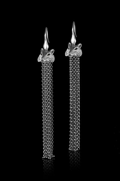 Ugo Cacciatori, Silver, Jewelry, Sterling Silver, Earrings, Silver, Black Diamonds, Brown Diamonds, Emeralds, Rubies, Sapphires