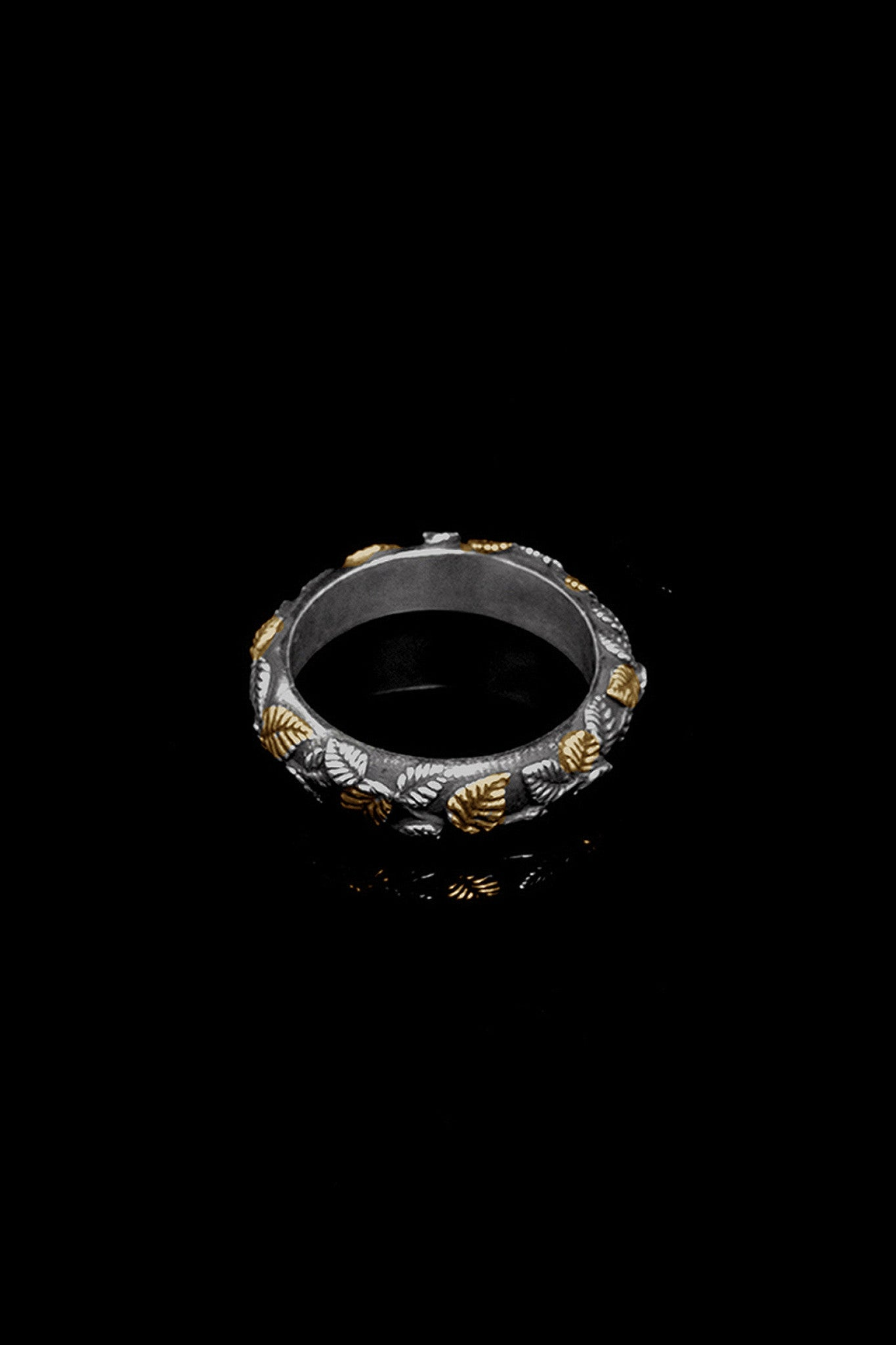 Ugo Cacciatori, Gold, Jewelry, 9kt Gold + Sterling Silver, Ring, Gold + SIlver