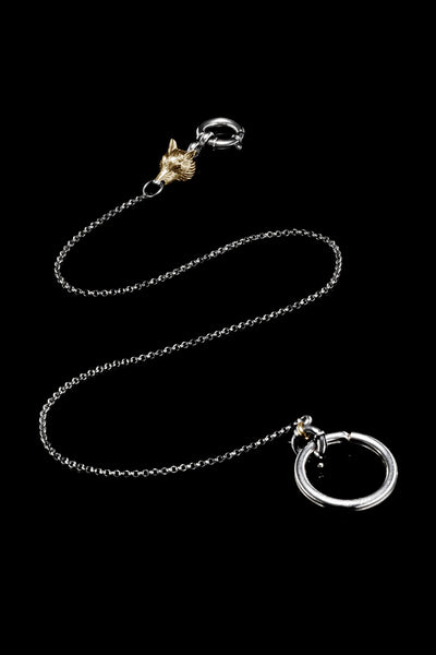 Ugo Cacciatori, Gold, Jewelry, 9kt Gold + Sterling Silver, Keychain, Gold + SIlver, Black Diamonds, Brown Diamonds