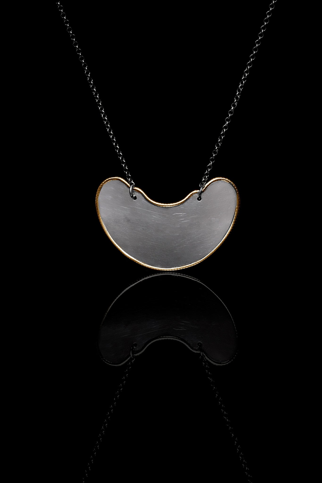 Ugo Cacciatori, Gold, Jewelry, 9kt Gold + Sterling Silver, Pendant, Gold + SIlver