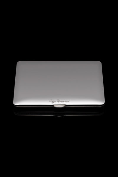 Smooth Cigarette Case in Sterling Silver