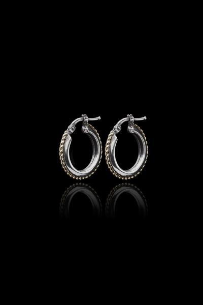 Edge & Cable Earrings - Ugo Cacciatori