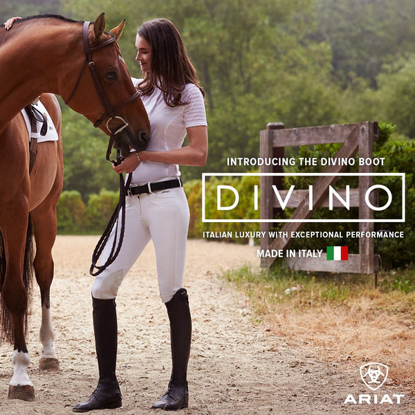 Meet the brand new Ariat Divino Italian Leather Tall Boot