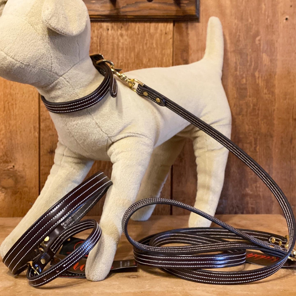 Walsh British Dog Leash Havanna