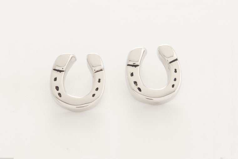 Michel McNabb Horseshoe Earrings
