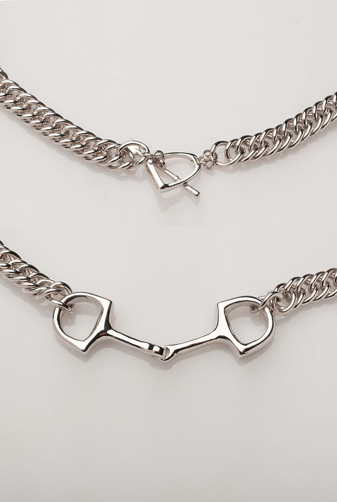 Michel McNabb Snaffle Curb Chain Necklace