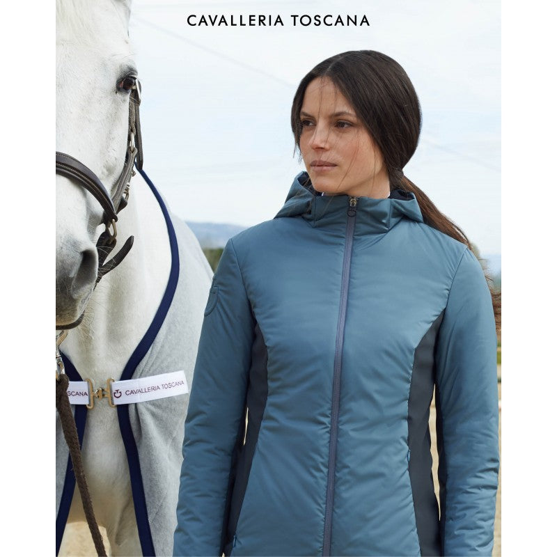 Cavalleria Toscana Insulated Nylon Hooded Jacket