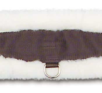 Wool back girth