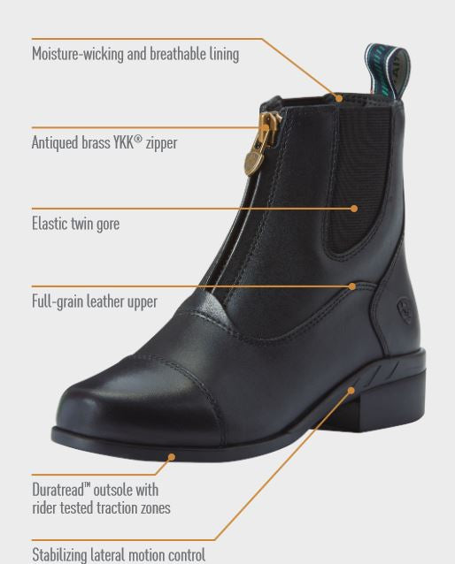 COMING SOON! SPRING 2019 Ariat Kid's Devon IV Zip Paddock Boot