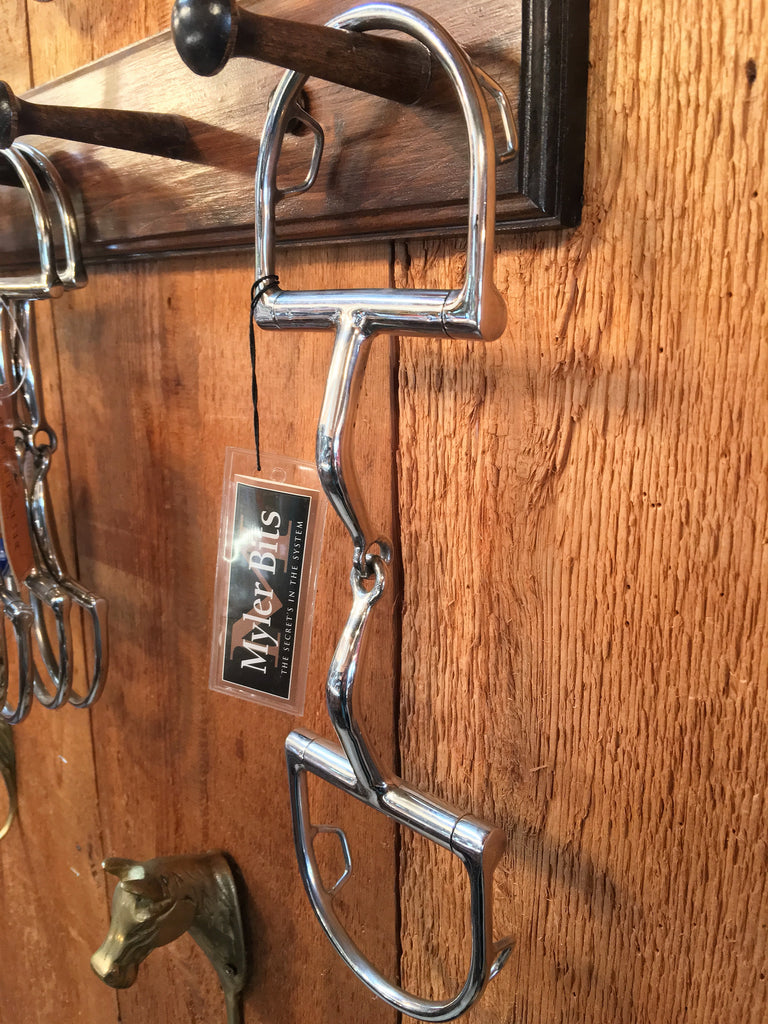 ORIGINAL Myler Dee Snaffle with Hooks