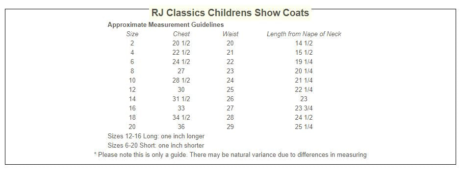 Girls RJ Classics Softshell Show Jacket - Hampton H8333 and H8331