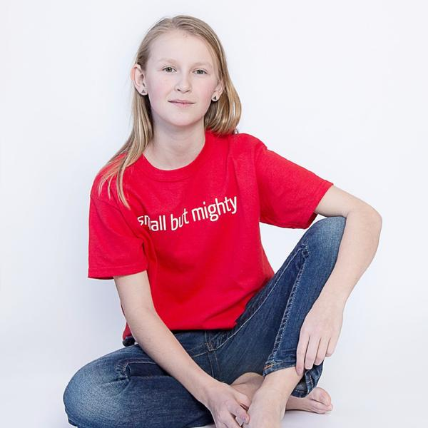 Small But Mighty kids tee