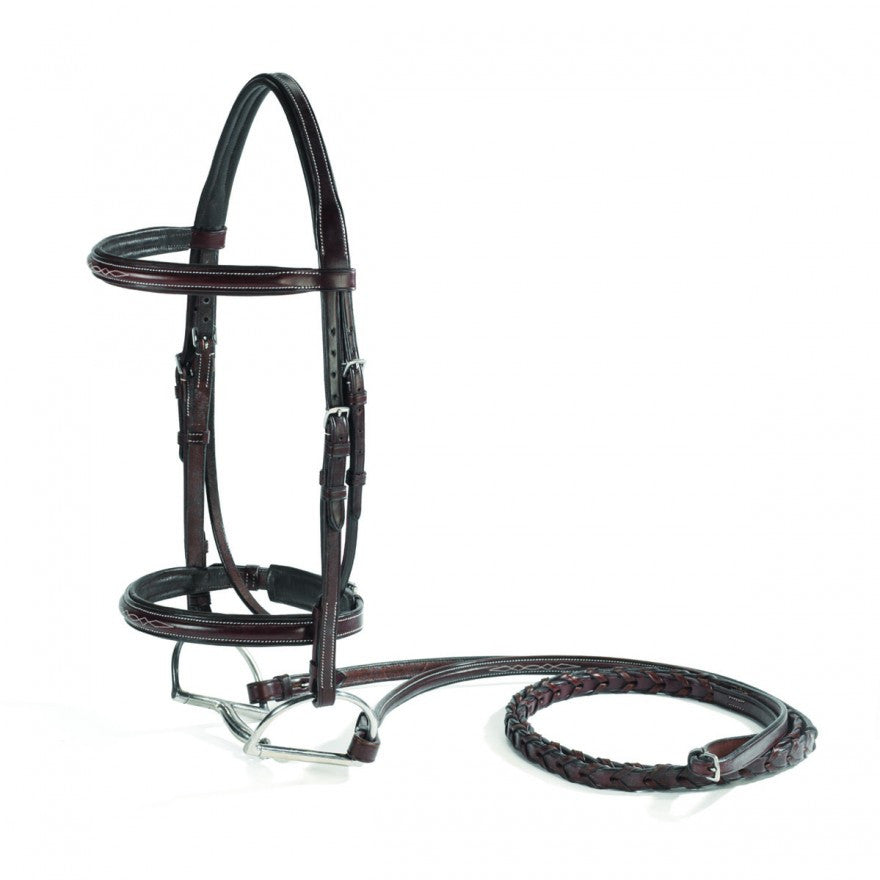 Vespucci Fancy Raised Padded Bridle