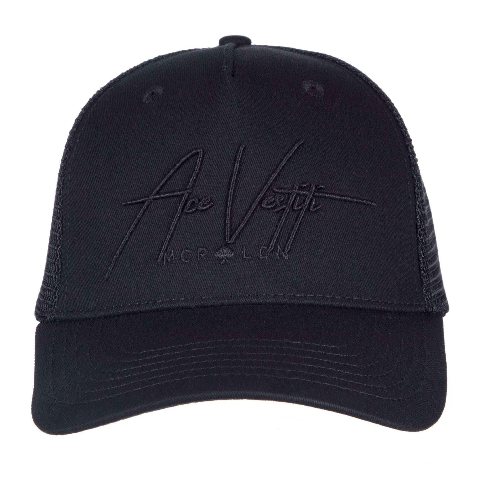 All Black Signature Trucker - ACE VESTITI