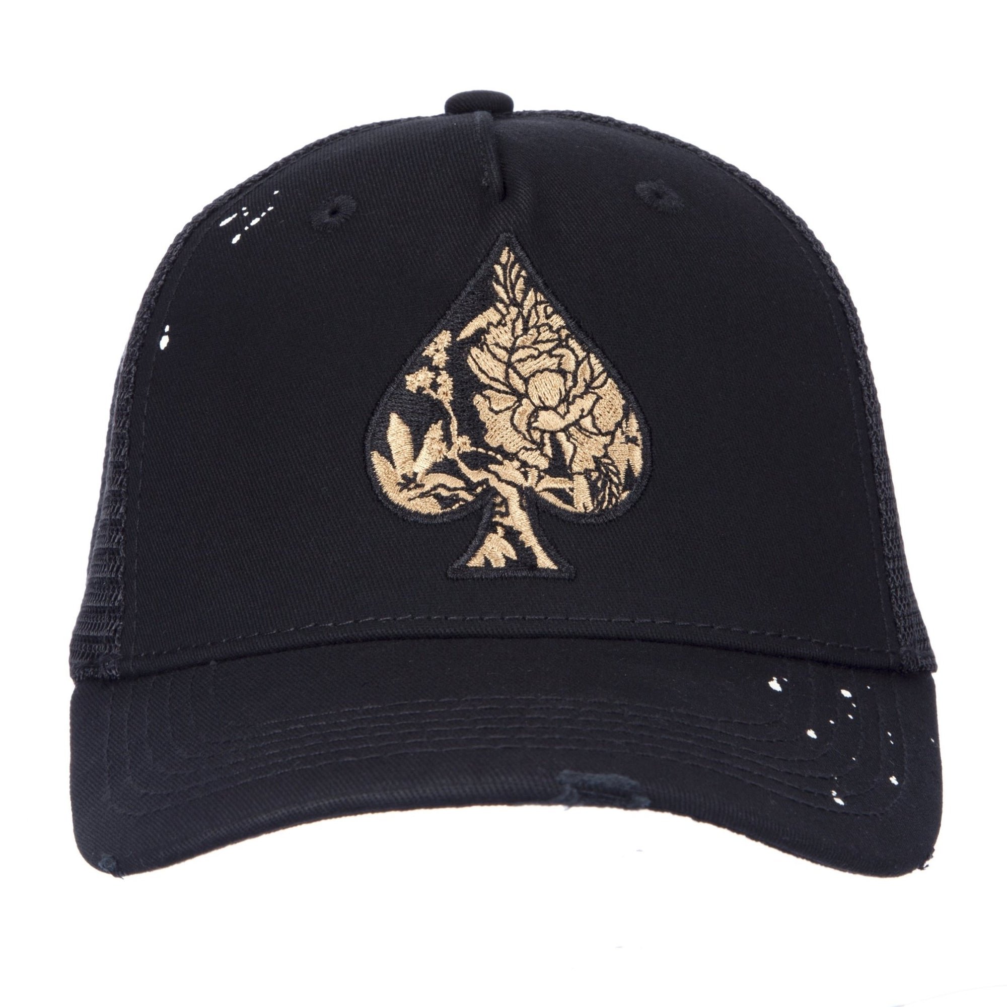 Golden Blossom Trucker - ACE VESTITI
