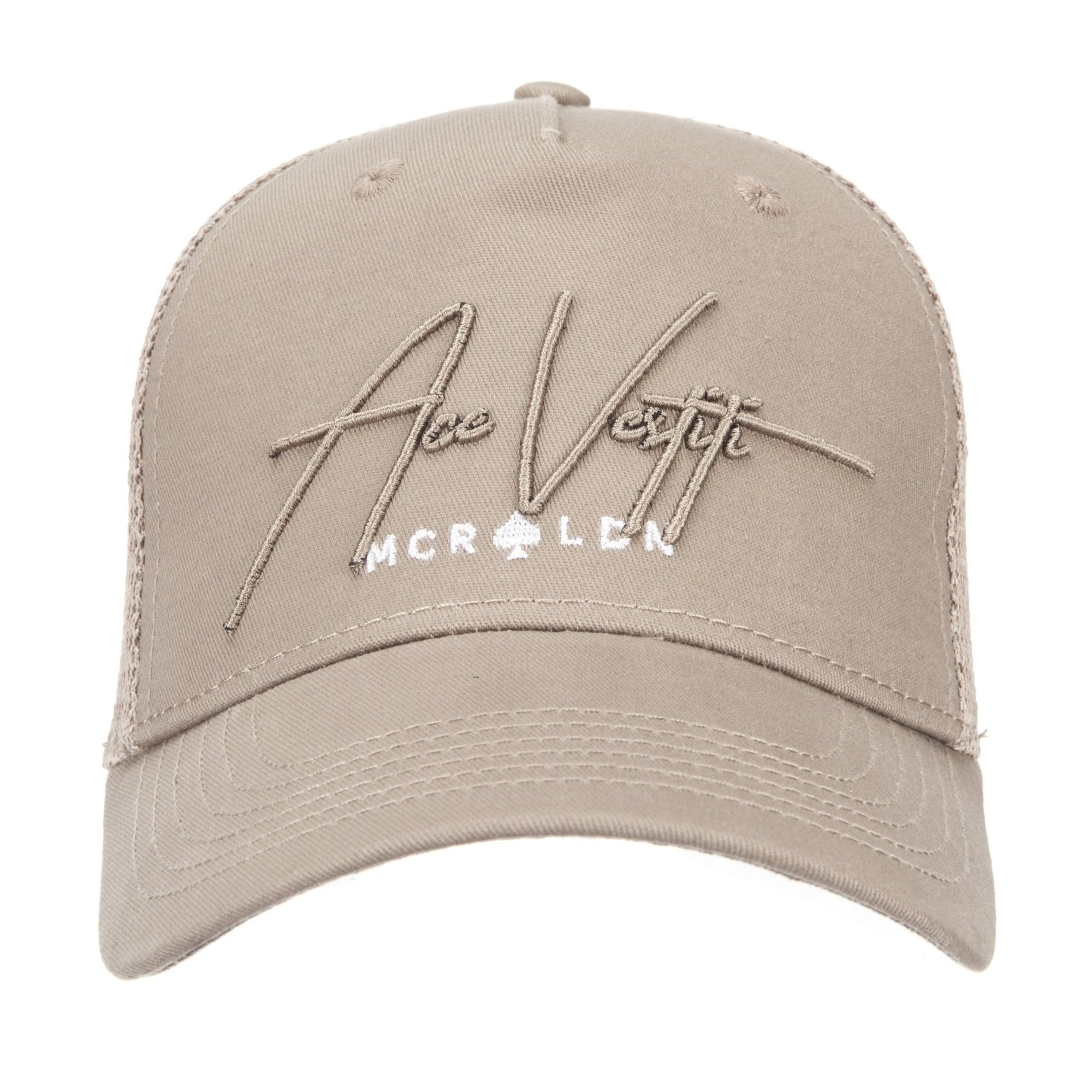 Golden Sand Signature Mesh Trucker - ACE VESTITI