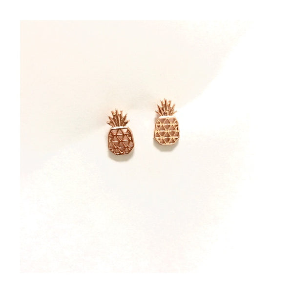 Pineapple Rosé Earrings