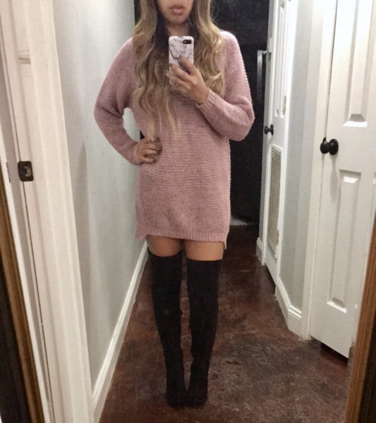 Heathered Sweater