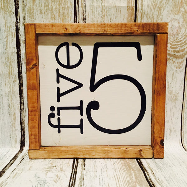 Family Numeral Sign