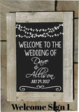 Wedding Sign Rental Package