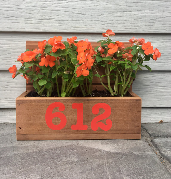 Custom planter box