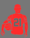 Sports Player Silhouette