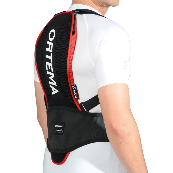 Ortema ORTHO-MAX Light - Man wearing Back Protection from Ortema
