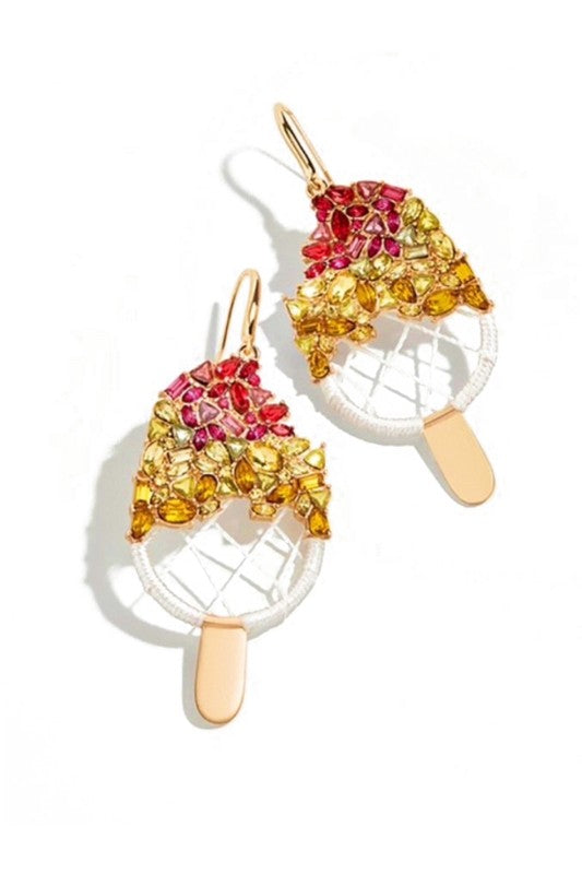 Tutti Fruiti Popsicle Earring-earrings-Jouvert Joli