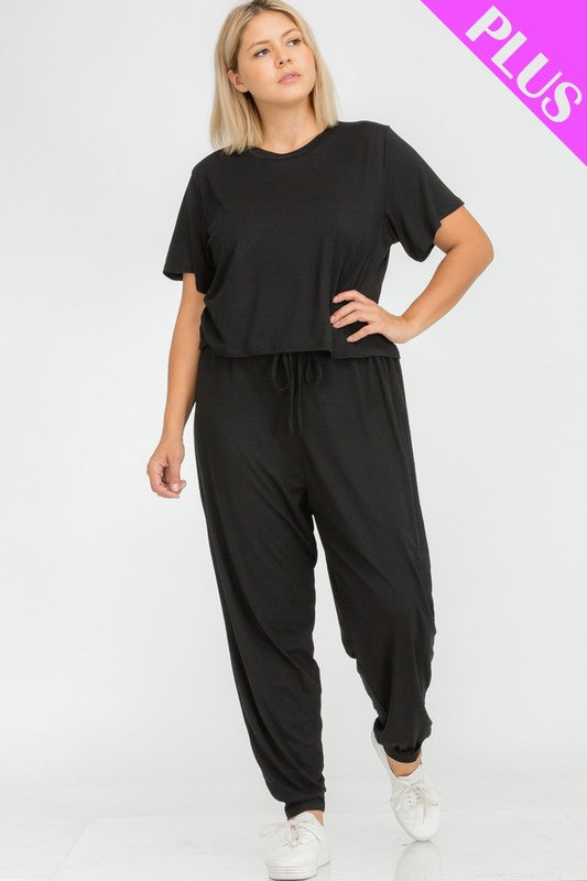 PLUS SIZE Top & Pants Set