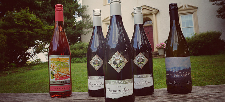 Chaddsford Claims Three Medals And Best Red Hybrid Blend At