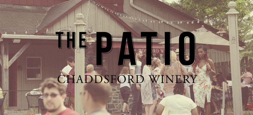 Coming May 13 The Patio At Chaddsford Winery