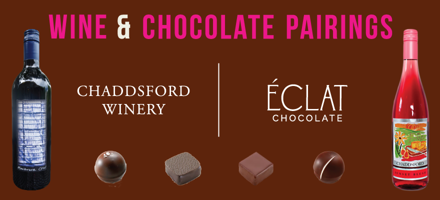 Chaddsford Partners With Eclat Chocolate For Month Long Pairing