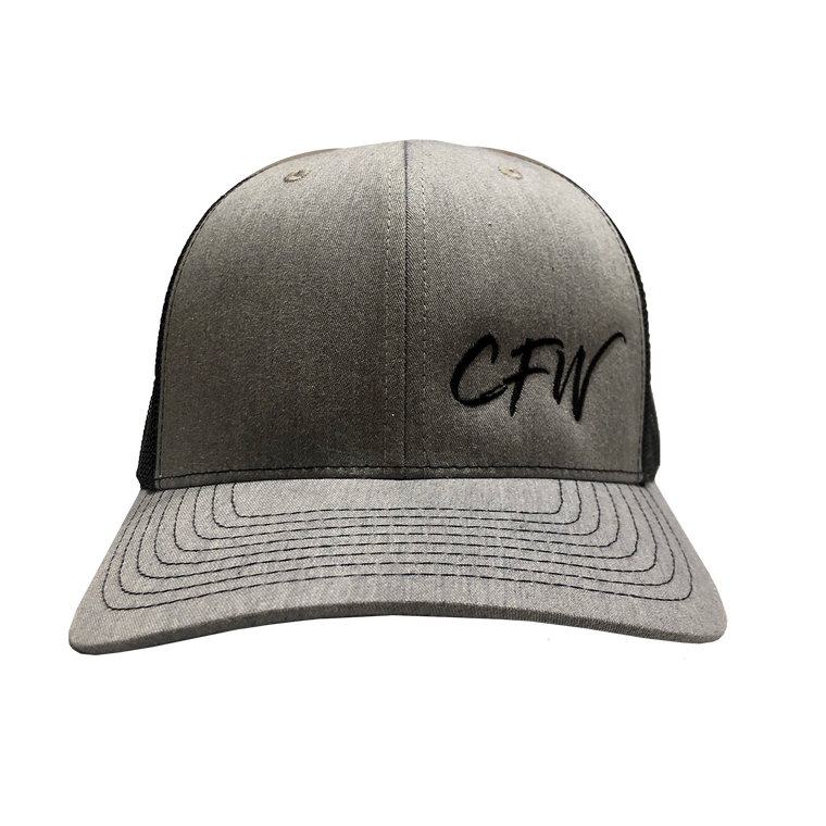 Gray CFW Trucker Cap