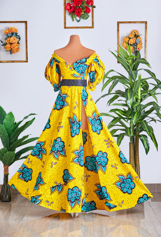 Serwaa vivant dress