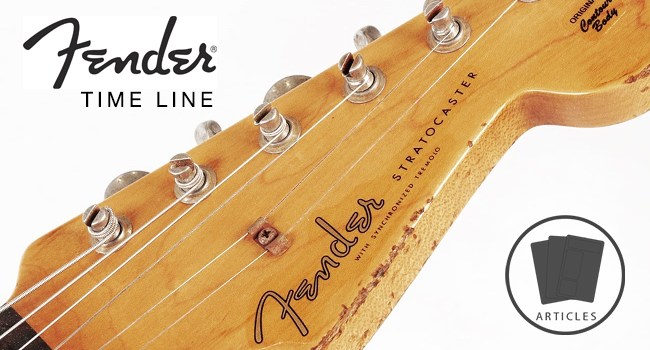 Fender Timeline The History Of Fender Guitars