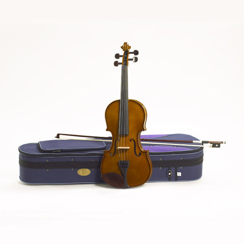 Stentor Violin Outfit Student 1 3/4 Solid Tonewoods, Carved Spruce front, Maple neck, Rosewood Fingerboard and Pegs