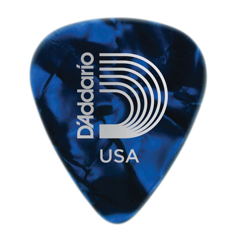 Planet Waves Pearl Celluloid Picks-X.Hvy- Blue Pearl - 1CBUP7-10