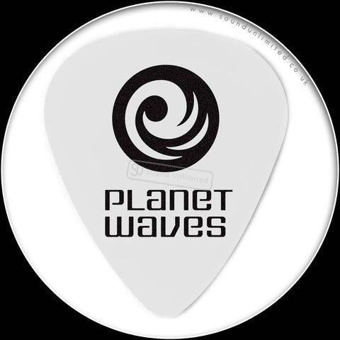 Planet Waves Classic Celluloid Picks-Light-Std-WhtPearl - 1CWH2-10