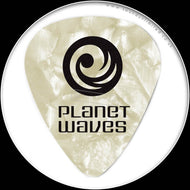 Planet Waves Pearl Celluloid Picks - Med-WhitePearl 1CWP4-10