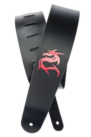 Planet Waves Dragon Leather Guitar Strap 25L-DRG