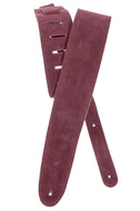 Planet Waves Burgundy Suede Guitar Strap 25SS03-DX