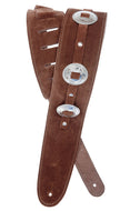 Planet Waves 2.5 Conchos Guitar Strap - Brown 25SSC01