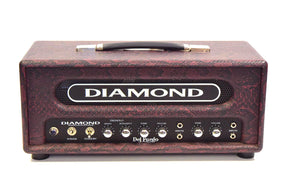 Diamond Del Fuego Head and Cab - Red Snake Skin