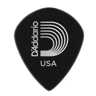 Planet Waves Black Ice Picks-  Medium-  Jazz Shape-  3DBK4-10