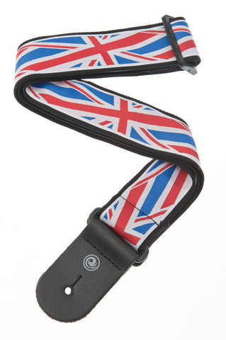 Planet Waves Union Jack Guitar Strap 50A11