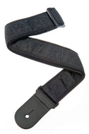 Planet Waves Black Satin Guitar Strap 50B01